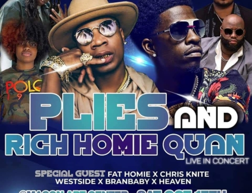 Chris Knite Opens for Plies and Rich Homie Quan 10-17-20